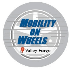 Logo For Valley Forge Casino Mobility On Wheels Location
